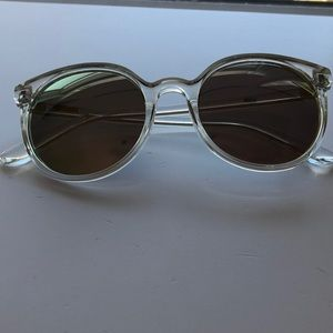 J.Crew Clear Reflective Glasses